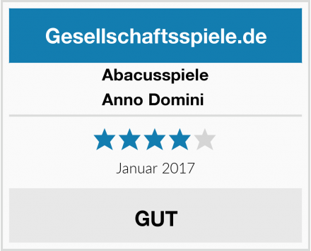 Abacusspiele Anno Domini  Test