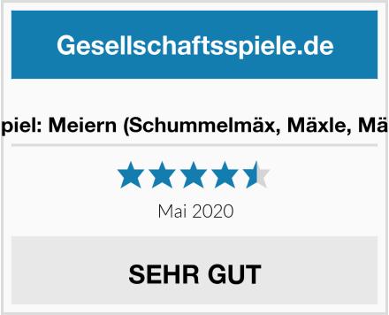 No Name Partyspiel: Meiern (Schummelmäx, Mäxle, Mäxchen) Test