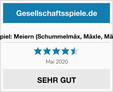 Partyspiel: Meiern (Schummelmäx, Mäxle, Mäxchen) Test