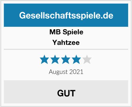 MB Spiele Yahtzee Test
