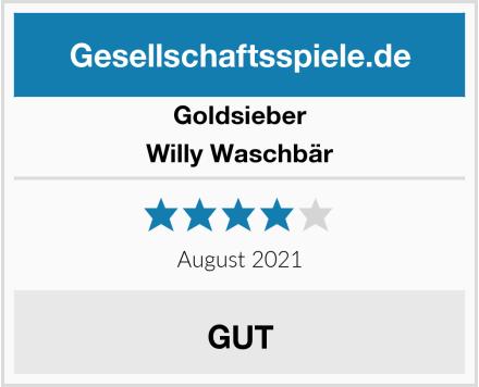 Goldsieber Willy Waschbär Test
