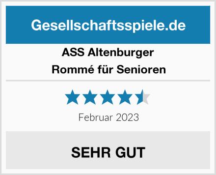 ASS Altenburger Rommé für Senioren Test