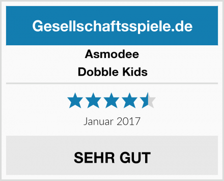 Asmodee Dobble Kids Test