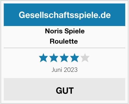Noris Spiele Roulette  Test