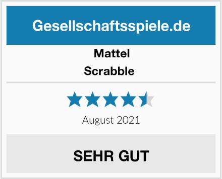 Mattel Scrabble  Test