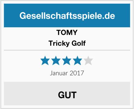 Tomy Tricky Golf Test