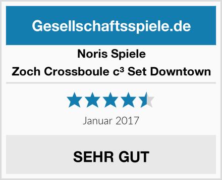 Noris Spiele Zoch Crossboule c³ Set Downtown Test