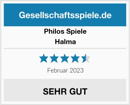 Philos Spiele Halma Test