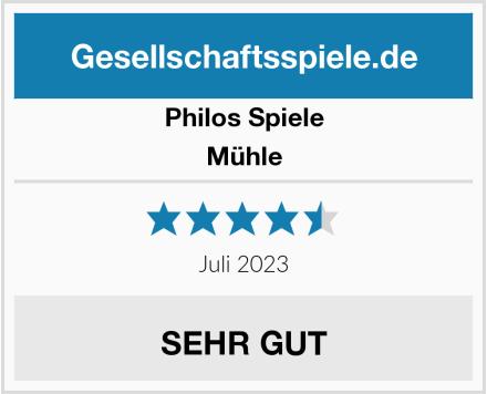 Philos Spiele Mühle Test