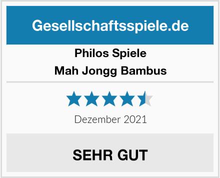 Philos Spiele Mah Jongg Bambus Test