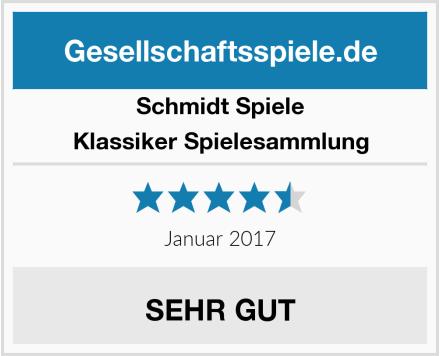Schmidt Spiele Klassiker Spielesammlung Test