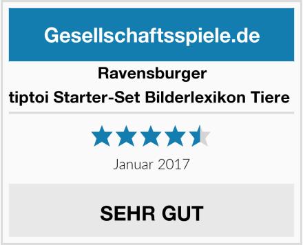 Ravensburger tiptoi Starter-Set Bilderlexikon Tiere  Test