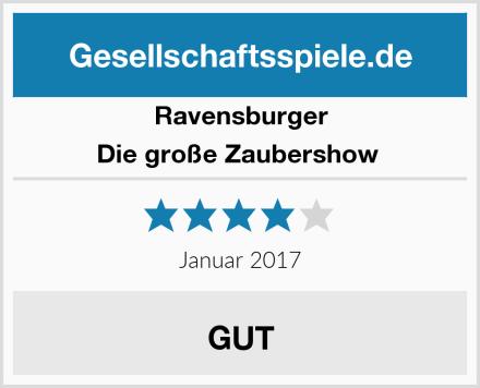 Ravensburger Die große Zaubershow  Test