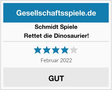 Schmidt Spiele Rettet die Dinosaurier! Test