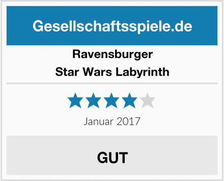 Ravensburger Star Wars Labyrinth Test