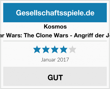 Kosmos Star Wars: The Clone Wars - Angriff der Jedi Test