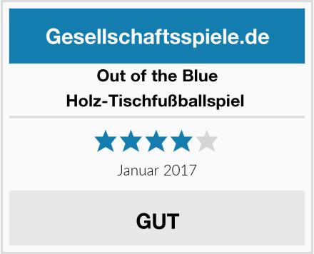 Out of the Blue Holz-Tischfußballspiel  Test