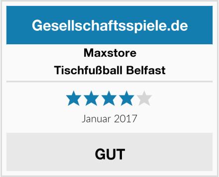 Maxstore Tischfußball Belfast Test