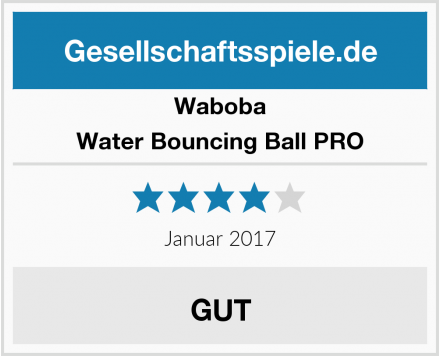 Waboba Water Bouncing Ball PRO Test