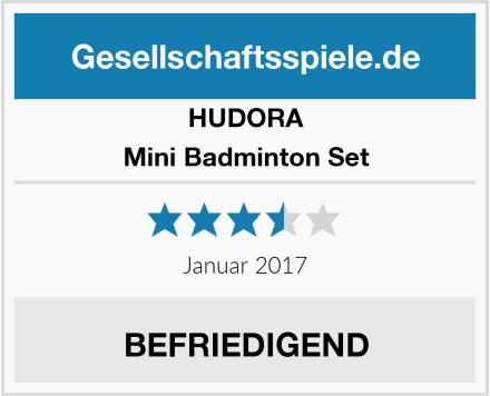 HUDORA Mini Badminton Set Test
