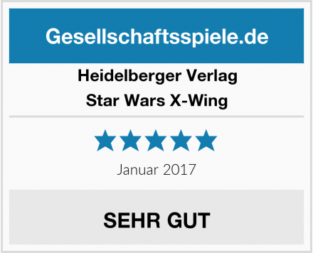 Heidelberger Verlag Star Wars X-Wing Test