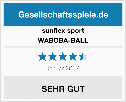 sunflex sport WABOBA-BALL Test