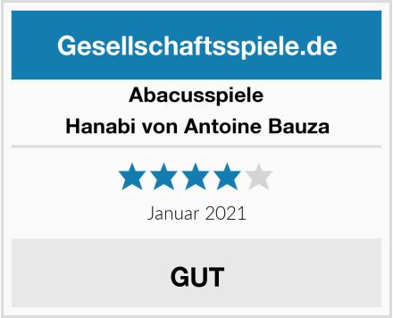 Abacusspiele Hanabi von Antoine Bauza Test