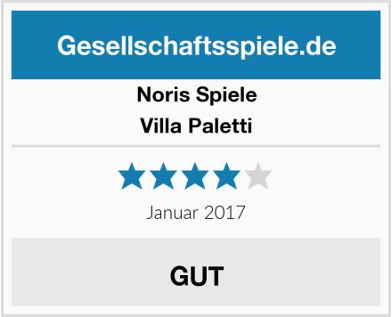 Noris Spiele Villa Paletti Test