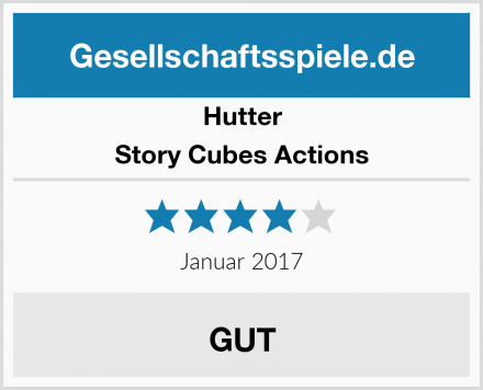 Hutter Story Cubes Actions Test