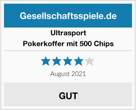 Ultrasport Pokerkoffer mit 500 Chips Test