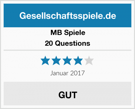 MB Spiele 20 Questions Test