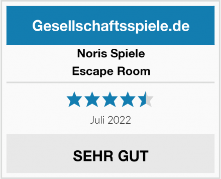 Noris Spiele Escape Room Test