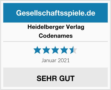 Heidelberger Verlag Codenames Test