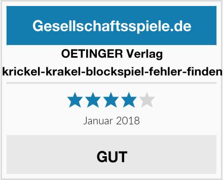 Oetinger Verlag krickel-krakel-blockspiel-fehler-finden Test