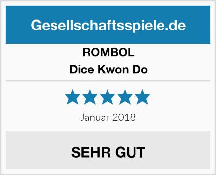 ROMBOL Dice Kwon Do Test