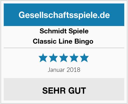Schmidt Spiele Classic Line Bingo  Test