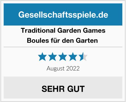 Traditional Garden Games Boules für den Garten  Test