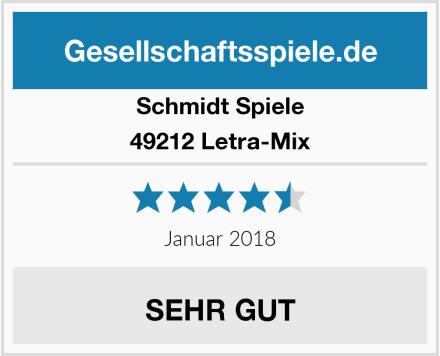 Schmidt Spiele 49212 Letra-Mix Test