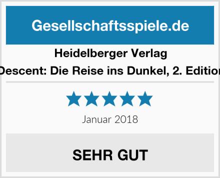 Heidelberger Verlag Descent: Die Reise ins Dunkel, 2. Edition Test
