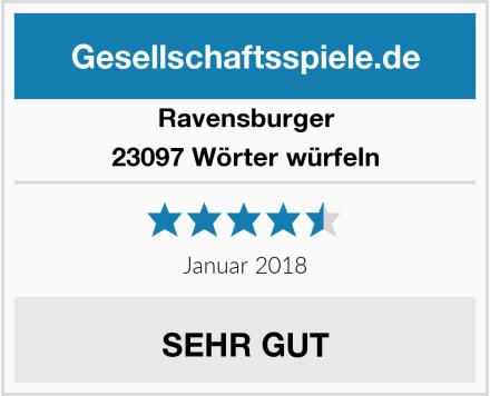 Ravensburger 23097 Wörter würfeln Test