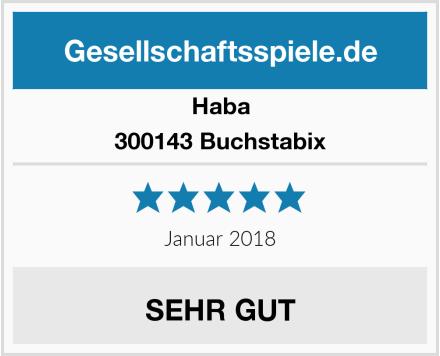 Haba 300143 Buchstabix Test