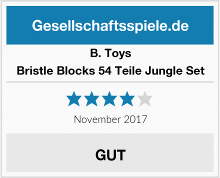 B. Toys Bristle Blocks 54 Teile Jungle Set Test