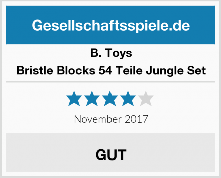 B. Toys Bristle Blocks 54 Teile Jungle Set Test