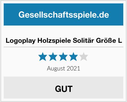 No Name Logoplay Holzspiele Solitär Größe L Test