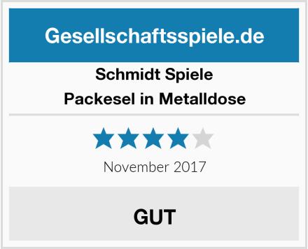Schmidt Spiele Packesel in Metalldose Test
