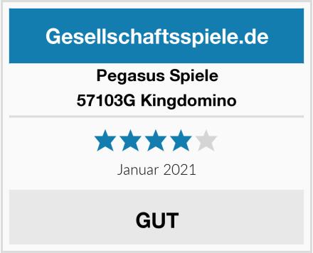 Pegasus Spiele 57103G Kingdomino Test