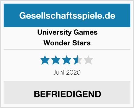 University Games Wonder Stars Test