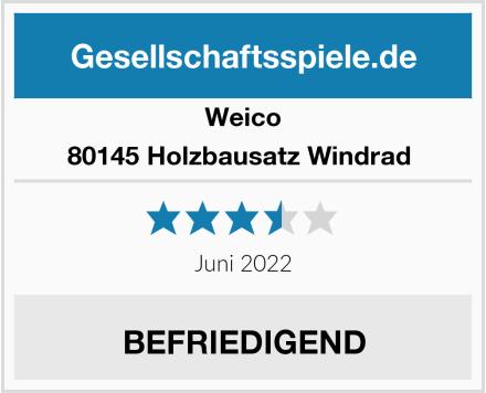 Weico 80145 Holzbausatz Windrad  Test