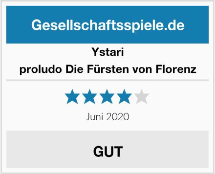Ystari Games proludo Die Fürsten von Florenz Test