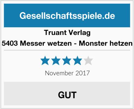 Truant Verlag 5403 Messer wetzen - Monster hetzen Test